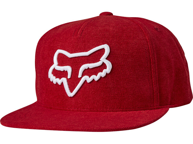 Fox Instill Snapback Cap Heren, red/white
